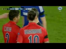 Czerwona kartka Ibrahimovicia w meczu z Chelsea