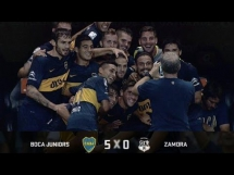 Boca Juniors 5:0 Zamora