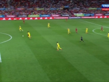 Hiszpania 1:0 Ukraina