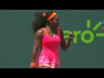 Serena Williams 2:0 Carla Suarez Navarro