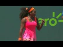Serena Williams 2:0 Carla Suarez Navarro