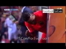 Neymar zły na Luisa Enrique po zejściu z boiska
