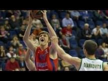 CSKA Moskwa - Panathinaikos 93:66