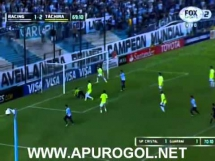 Racing Club 3:2 Deportivo Tachira