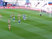 Reading 1:1 (1:2) Arsenal Londyn