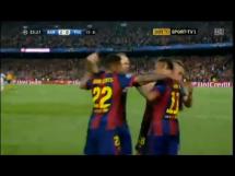 Drugi gol Neymara w meczu z PSG