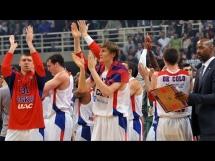 Panathinaikos 55:74 CSKA Moskwa