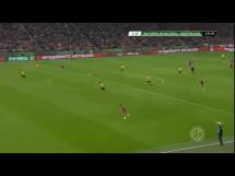 Gol Lewego w meczu z Borussią w Pucharze Niemiec