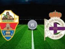 Elche 4:0 Deportivo La Coruna