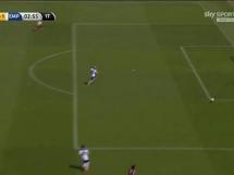 Samobójczy gol Padelli'ego w meczu Torino z Empoli