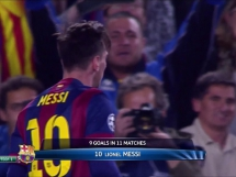 Gol na 1-0 Messiego!