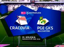 Cracovia Kraków - GKS Bełchatów 1:1