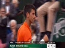 Novak Djoković 3:0 Jarkko Nieminen