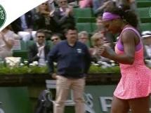 Serena Williams 2:1 Anna-Lena Friedsam