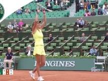 Caroline Wozniacki 0:2 Julia Goerges