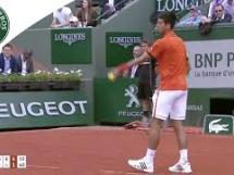 Novak Djoković 3:0 Gilles Muller