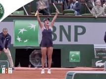 Elena Vesnina 2:0 Alizé Cornet
