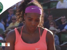 Serena Williams - Timea Bacsinszky 2:1