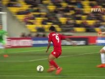 Myanmar U20 1:5 Nowa Zelandia U20