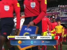 Kolumbia U20 1:3 Portugalia U20