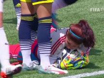 Francja 0:2 Kolumbia