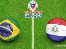Brazylia 1:1 Paragwaj