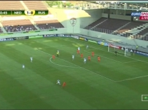 Holandia U19 1:0 Rosja U19