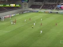 Niemcy U19 0:3 Hiszpania U19