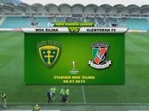 MSK Zilina 3:0 Glentoran