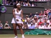 Serena Williams wygrała w finale Wimbledonu z Garbine Muguruzą