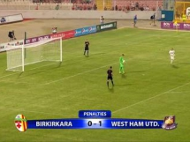 Birkirkara 1:0 West Ham United