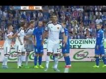 Lech przegrał 1:3 z Bazyleą