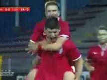 Charleroi 0:2 Zoria Ługańsk