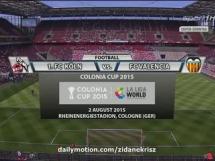 FC Koln 3:2 Valencia CF