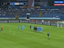 Slovan Bratysława 3:3 FK Krasnodar