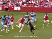 Arsenal Londyn 0:2 West Ham United