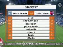 Lech Poznań 3:0 Videoton