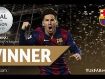 Gol Messiego najpiękniejszym trafieniem Ligi Mistrzów 2014/2015