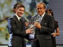 Leo Messi piłkarzem roku UEFA!