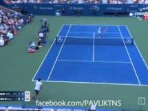 Roger Federer 3:0 Leonardo Mayer