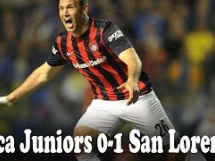 Boca Juniors 0:1 San Lorenzo