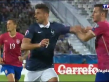 Francja 2:1 Serbia