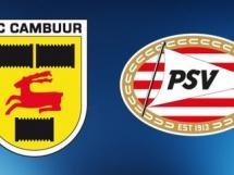 Cambuur 0:6 PSV Eindhoven