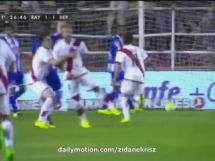 Rayo Vallecano 1:3 Deportivo La Coruna