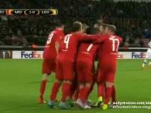 Midtjylland 1:0 Legia Warszawa
