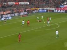 Pięć bramek Lewandowskiego w meczu z Wolfsburgiem!