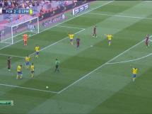 FC Barcelona 2:1 Las Palmas