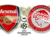 Arsenal Londyn 2:3 Olympiakos Pireus