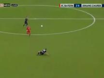 Gol Lewandowskiego na 2-0 z Dynamem Zagrzeb!
