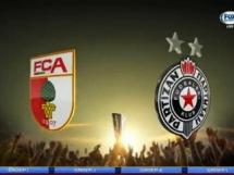 Augsburg 1:3 Partizan Belgrad